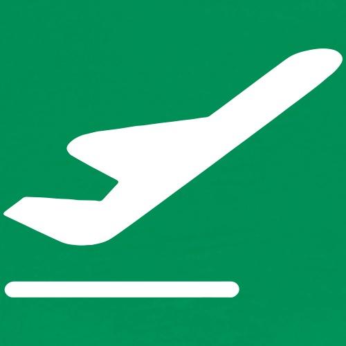 Airport Departures - Men's Premium T-Shirt