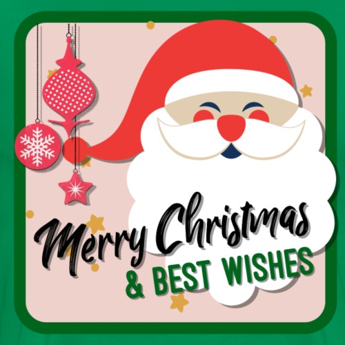 Santa Claus, Merry Christmas & Best Wishes