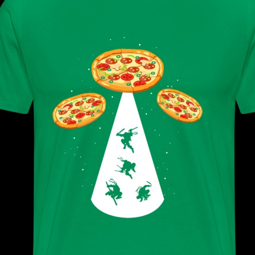 UFO Pizza Ninjas - Men's Premium T-Shirt