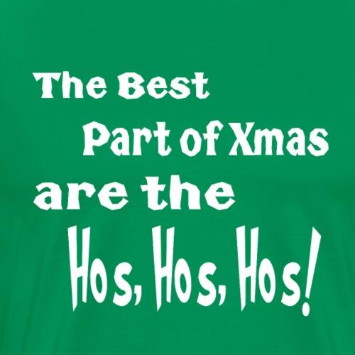 best part of xmas - Men's Premium T-Shirt