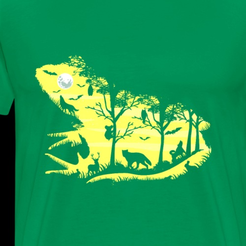 Frog Forest - Men's Premium T-Shirt