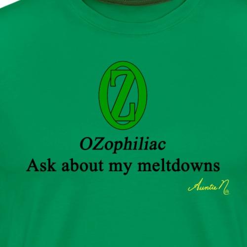 0134 OZophiliac - Men's Premium T-Shirt