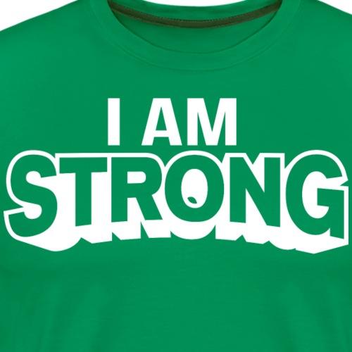 I AM Strong Affirmation T-Shirts & Clothing - Men's Premium T-Shirt