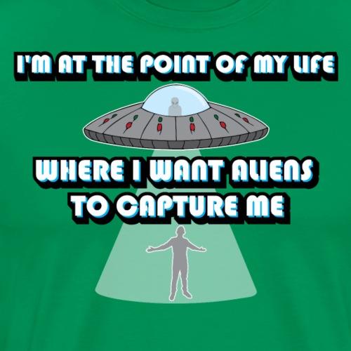 Captured by Aliens - Men's Premium T-Shirt