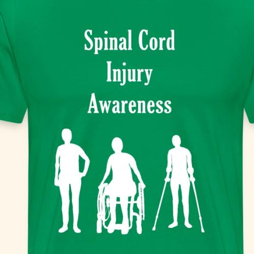 Spinal Cord Injury Awareness - Men's Premium T-Shirt