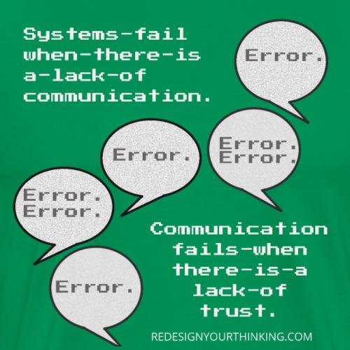 Communication Malfunction - Men's Premium T-Shirt