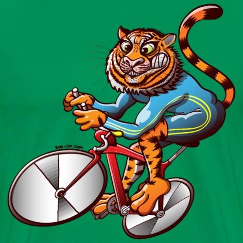 Olympic Cycling Tiger - Men's Premium T-Shirt
