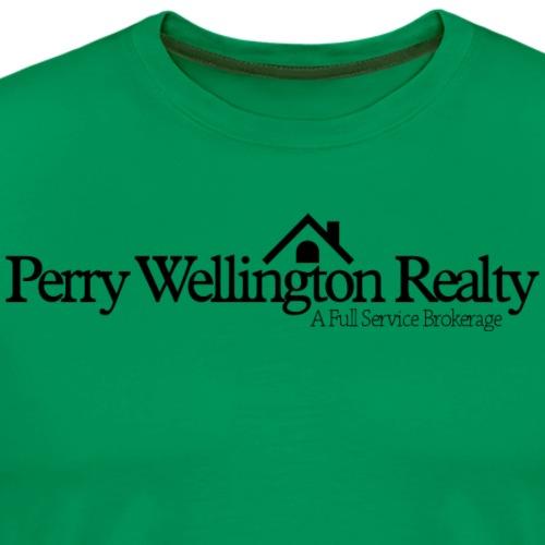 PW Black Logo - Men's Premium T-Shirt
