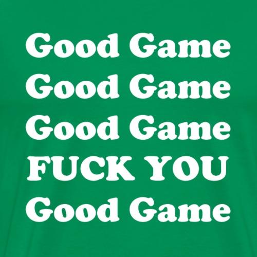 Good Game - White - Men's Premium T-Shirt