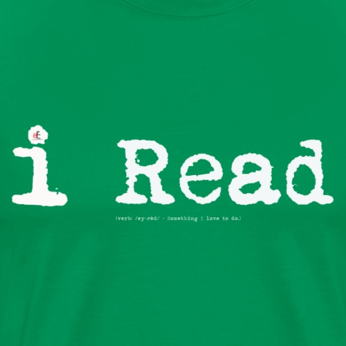 i Read - Men's Premium T-Shirt