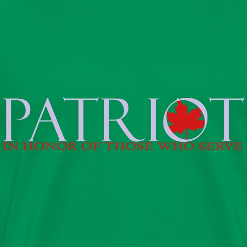 PATRIOT_LOGO_10_-_reverse - Men's Premium T-Shirt