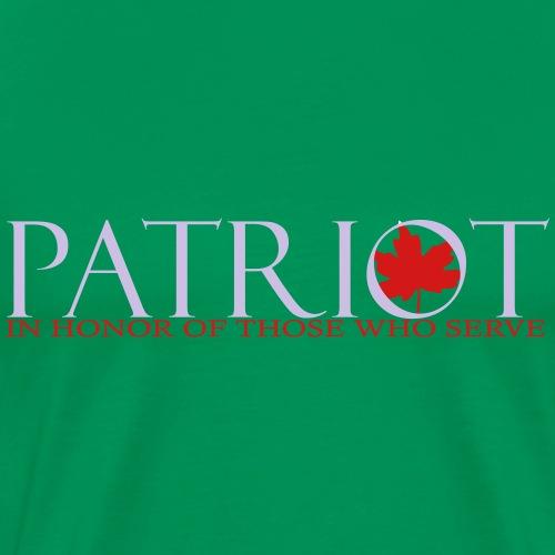 PATRIOT_LOGO_10_-_reverse - Men's Premium T-Shirt