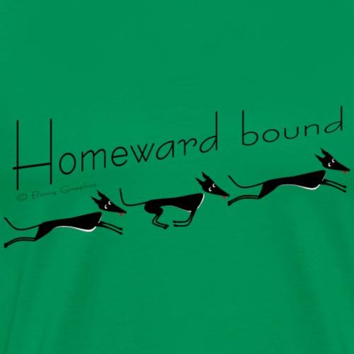 Homeward bound greyhounds - Men's Premium T-Shirt