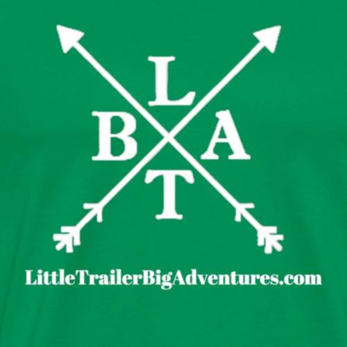 LTBA White Logo - Men's Premium T-Shirt