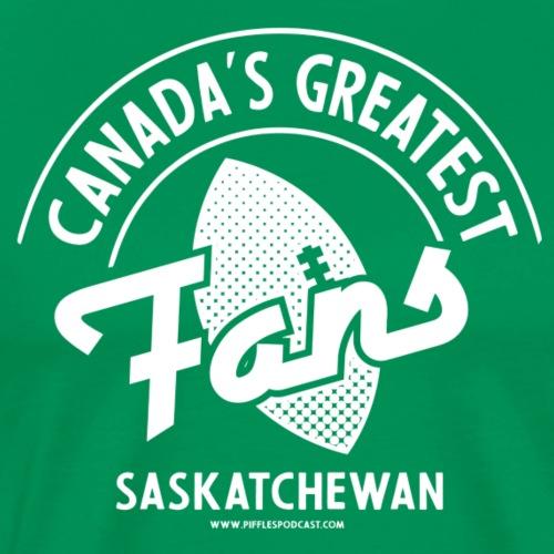 Canada's Greatest Fans - White - Men's Premium T-Shirt
