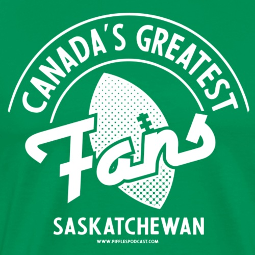 Canada's Greatest Fans - White - Men's Premium T-Shirt