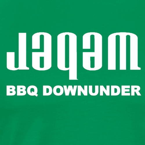 Jaqam downunder white - Men's Premium T-Shirt