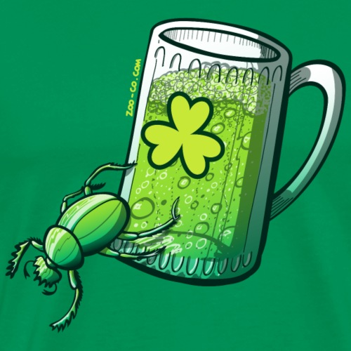 Saint Patrick's Day Beetle - Men's Premium T-Shirt