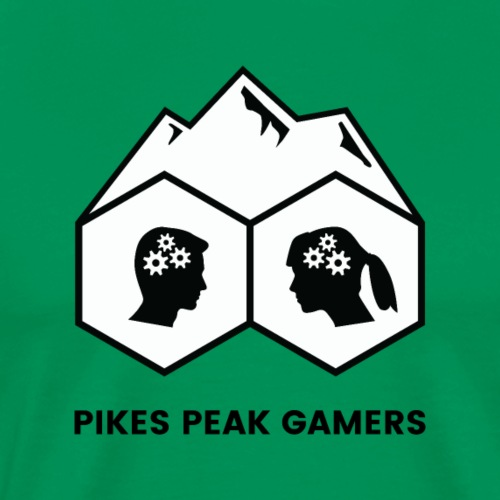 Pikes Peak Gamers (Solid White)