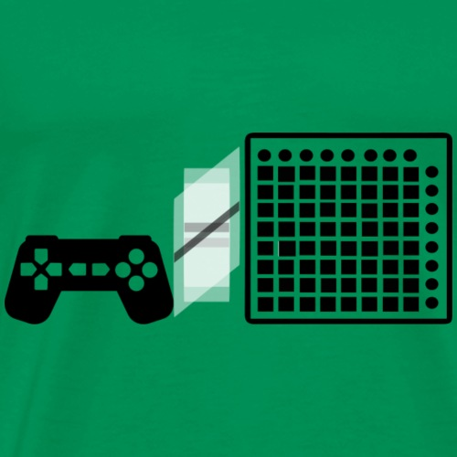 Gaming Doesn't Equal Launchpad - Men's Premium T-Shirt