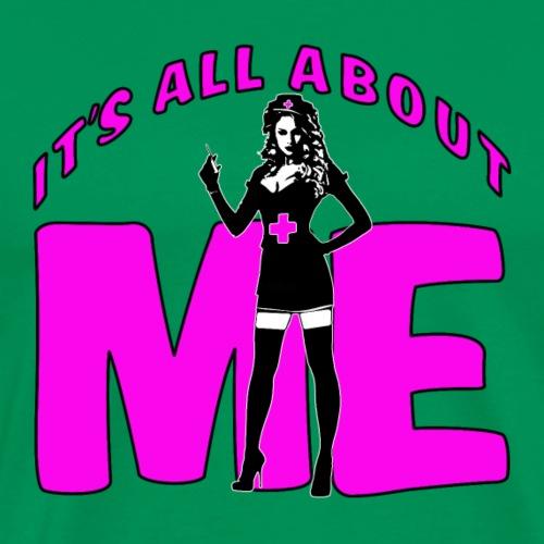 All About me Nurse Pink - Men's Premium T-Shirt