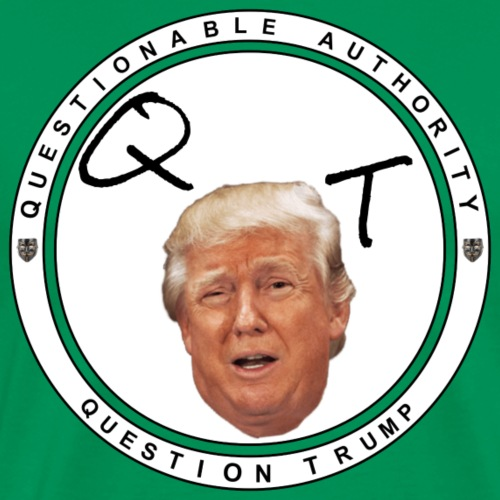 Question President Trump - Men's Premium T-Shirt