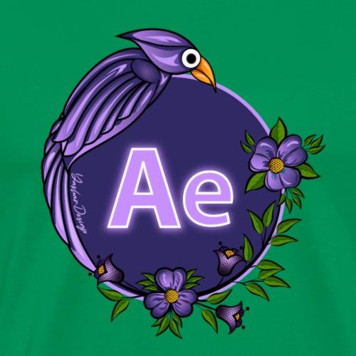 New AE Aftereffect Logo 2021 - Men's Premium T-Shirt