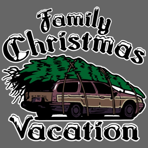 Griswold Wagon Christmas Tree Christmas Vacation - Men's Premium T-Shirt