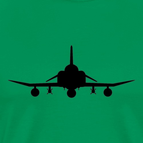 F-4 Phantom II Military Fighter Jet - Men's Premium T-Shirt