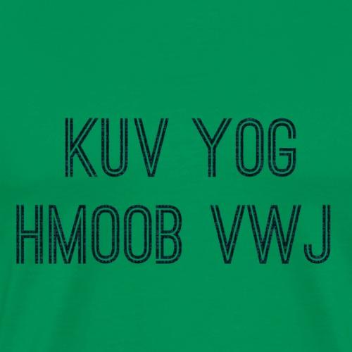 Hmoob Vwj - Men's Premium T-Shirt