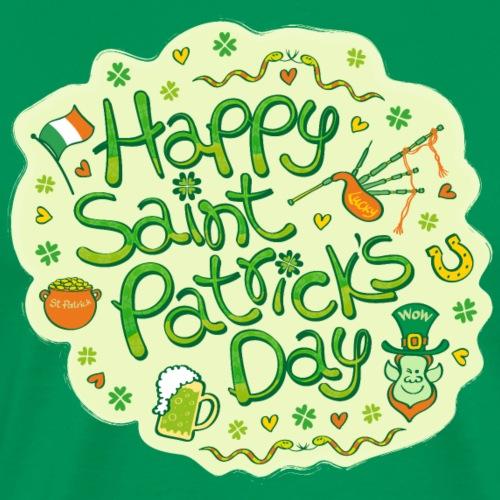 Celebrate Saint Patrick's Day in big style! - Men's Premium T-Shirt