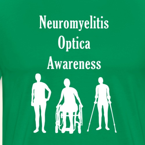 Neuromyelitis Optica Awareness - Men's Premium T-Shirt