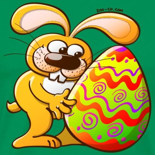 Easter Bunny Falling in Love - Men's Premium T-Shirt