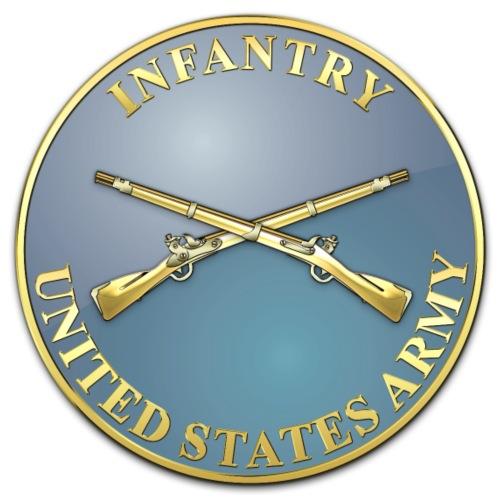 Infantry Branch Plaque - Men's Premium T-Shirt
