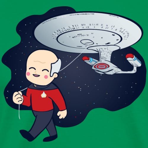 Picard Balloon - Men's Premium T-Shirt