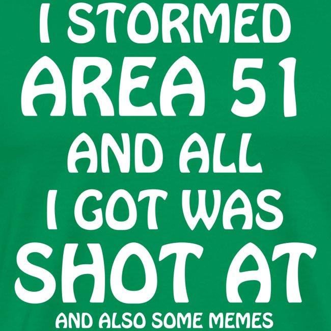 Area 51 - Shot At