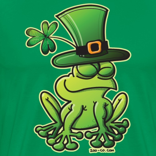 Proud Saint Patrick's Day Frog - Men's Premium T-Shirt
