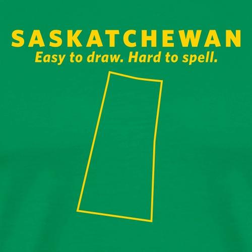 Saskatchewan - Men's Premium T-Shirt