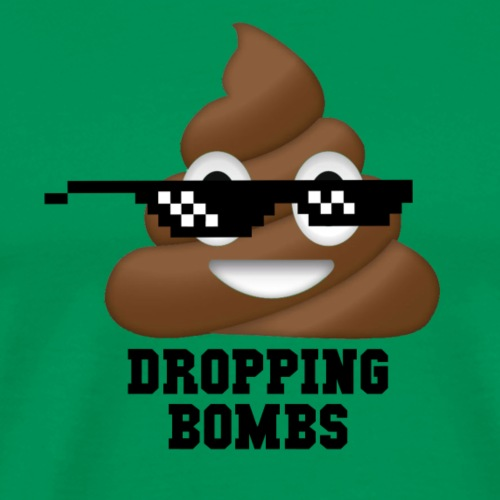 Dropping Bombs - Men's Premium T-Shirt