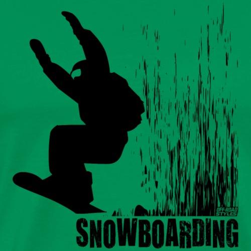 Snowboarding - Men's Premium T-Shirt