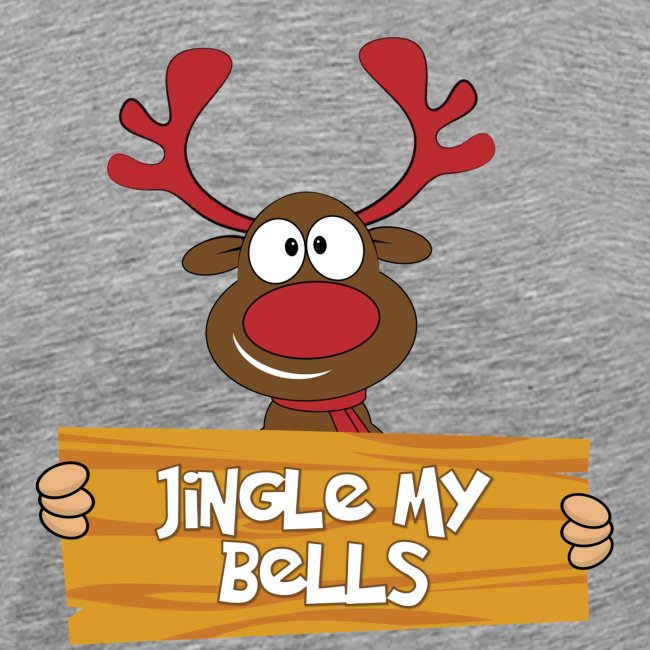 Red Christmas Horny Reindeer 4