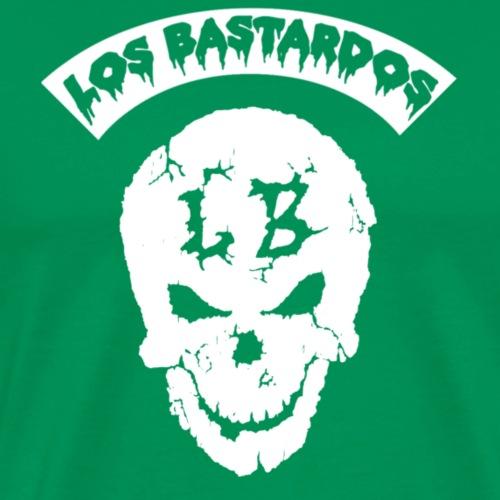 LBSKULLWHITE - Men's Premium T-Shirt