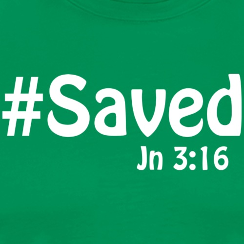 Saved White - Men's Premium T-Shirt
