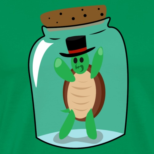 Trapped Turtle - Men's Premium T-Shirt