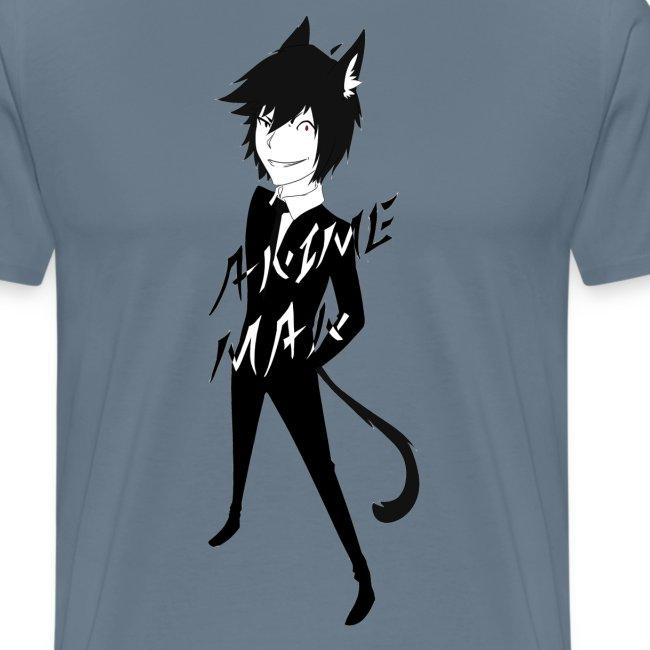 Monochrome Anime Man