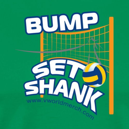 Bump Set Shank - Men's Premium T-Shirt