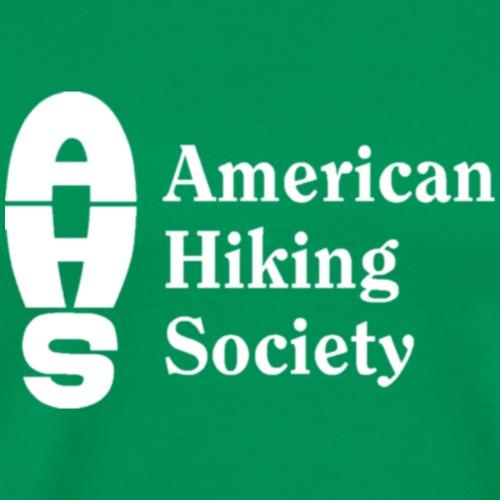 American Hiking Society Logo - Men's Premium T-Shirt