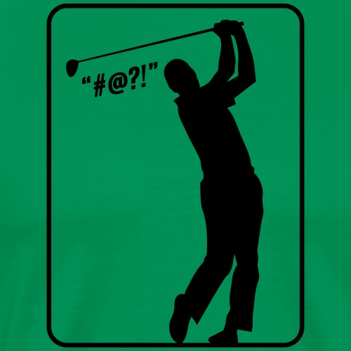 Golf Shot #@?! - Men's Premium T-Shirt