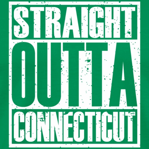 Straight Outta Connecticut - Men's Premium T-Shirt