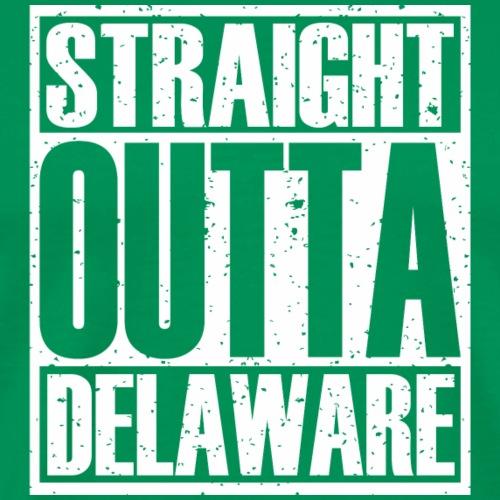 Straight Outta Delaware - Men's Premium T-Shirt